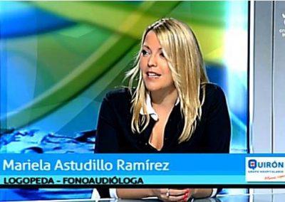 Mariela Astudillo en el programa Málaga Saludable