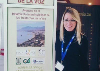 III Ponencia Jornadas Patología de la Voz. Marbella. España