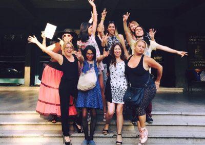 Taller práctico de feminización de la voz. Santiago de Chile. 2016