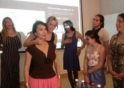 Taller de Feminización de la Voz. Chile. 2016