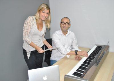 Fernando García Escudero y Mariela Astudillo. Madrid 2015